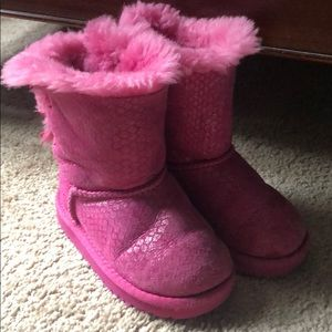 d45401a477d Kids Pink Bailey Bow Uggs on Poshmark